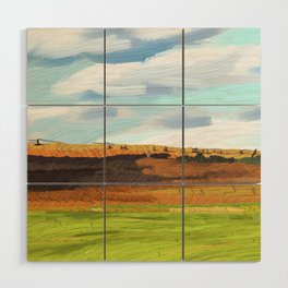 Farming Plain Wood Wall Art