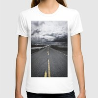 road T-shirts featuring Road by Nick Verschoor