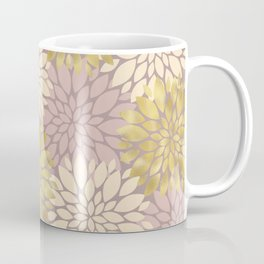 Pastel Petals Pattern Coffee Mug