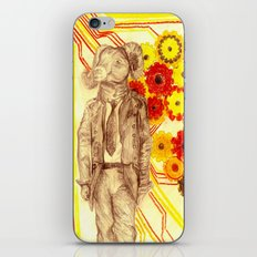 Steampunk Ram iPhone & iPod Skin