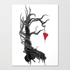 Love, like a tree Canvas Print