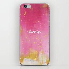 Pinkish iPhone Skin