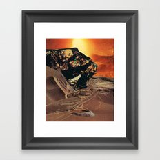 stuff dreams are made of Framed Art Print