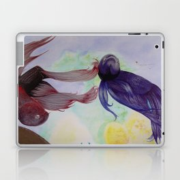 Japanesse Fighting Fish Laptop & iPad Skin