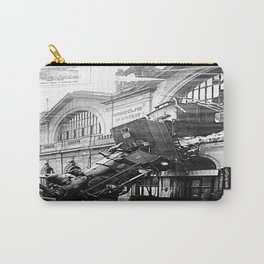 The Gare Montparnasse Train Accident  - France Carry-All Pouch
