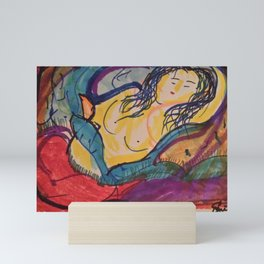 Beatrice Slumbers Mini Art Print