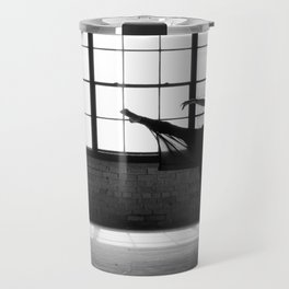 Ballet Dancer Silhouette Travel Mug