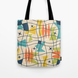 Mid Century Modern Abstract Pattern 761 Tote Bag