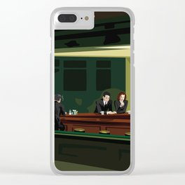 X-Hawks Clear iPhone Case