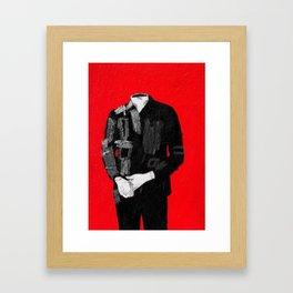 standing figure. 2015.  Framed Art Print