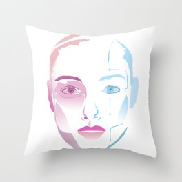 Lynn A.I. Throw Pillow