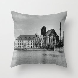 Wroclaw 2 Throw Pillow