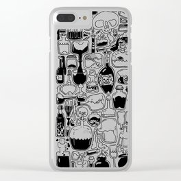 Potions, Poison, and Spirits Clear iPhone Case