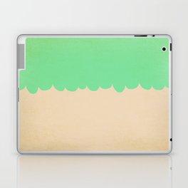 A Single Mint Scallop Laptop & iPad Skin