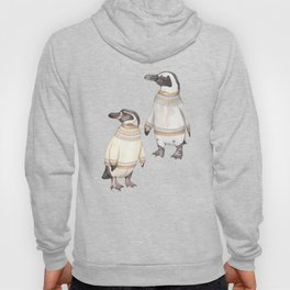 Penguins in sweaters Hoody