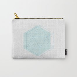 Icosahedron Carry-All Pouch