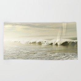 Pismo Waves Beach Towel