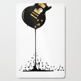 Flowing Music Cutting Board
