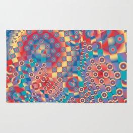 retro psychedelic Rug