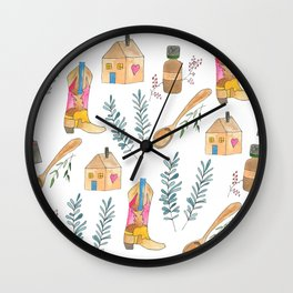 blog life Wall Clock