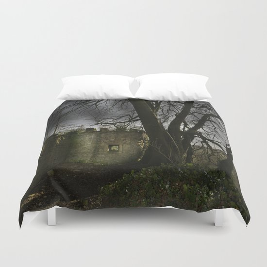 Castles in my Mind Duvet Cover
