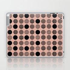 old pink circles Laptop & iPad Skin