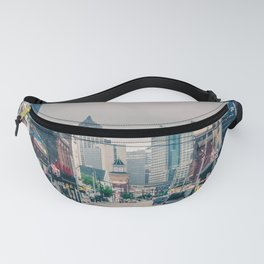 Pittsburgh City View From Strip District Fanny Pack