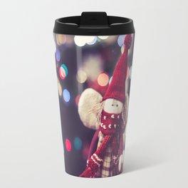 Christmas Bokeh Travel Mug