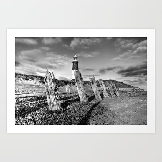Spurn Coast Art Print