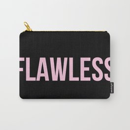 Flawless - Woke Up Like This B yonce Queen B Carry-All Pouch