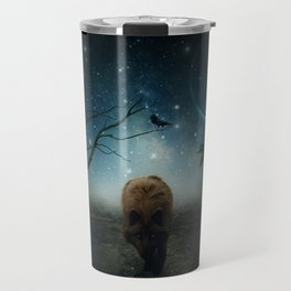 The Raven And The Wolf by GEN Z Travel Mug