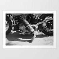 yowamushi pedal Art Prints featuring Pedal Bike by adambendig