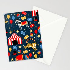 Under the Big Top Stationery Cards
