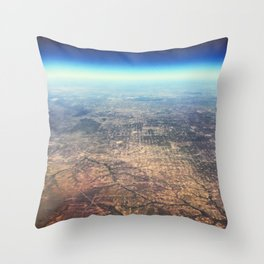 Views of Earth - 3 Throw Pillow