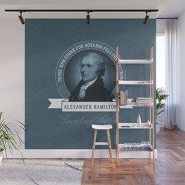 Alexander Hamilton Quote Wall Mural
