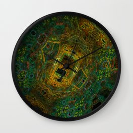 Arial Park View Wall Clock