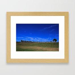 Castillo de San Marcos V Framed Art Print