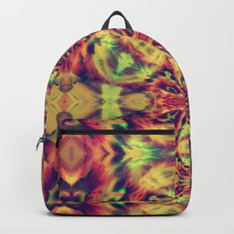 Psychedelic geometry pattern (Acid session vol.1) Backpack