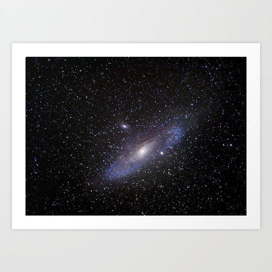 Galaxy Andromeda Art Print