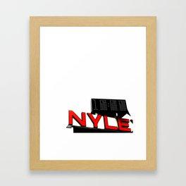 Nylex Framed Art Print