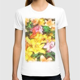 Lilies Love and Light T-shirt