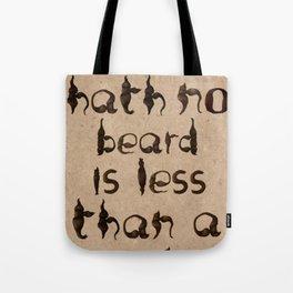 Shakespeare's Macbeth Tote Bag