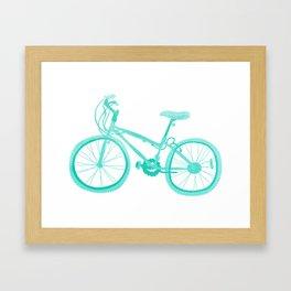 No Mountain Bike Love? Framed Art Print