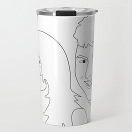 partners in crime Travel Mug