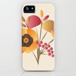Memorable Florals iPhone Case
