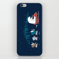 grand theft auto iPhone & iPod Skins featuring Grand Theft Arctic by maudie&ma