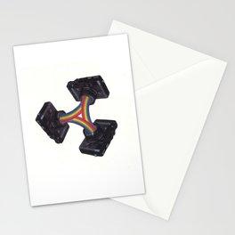 camera trilogy Stationery Cards