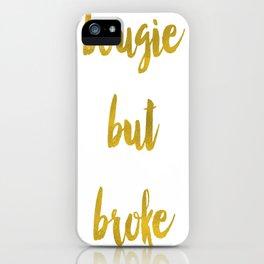 Bougie but Broke (iphone&ipad) iPhone Case