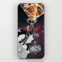 louis armstrong iPhone & iPod Skins featuring Louis Light (Digital Collage) by Jeff Taylor