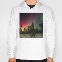 northern lights Hoodies featuring Northern Lights  by Limitless Design